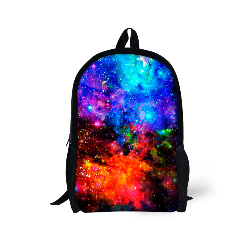Unique Multicolor Children Backpacks Stylish Galaxy Star ...
