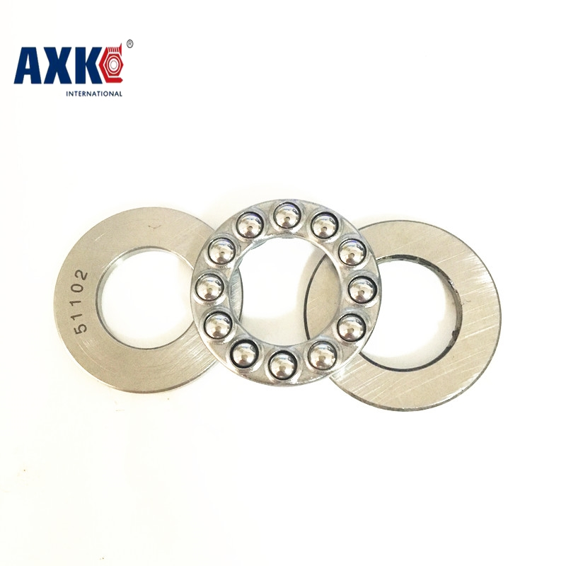 51201 Axial Ball Thrust Bearing 3-Parts 12x28x11mm 51201 51104 carbon steel axial ball thrust bearing 20x35x10mm