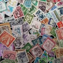 100 шт пакет различных использованных Definitions регулярные почтовые марки(unrepected) Коллекция почтовых отправлений коллекционные вещи памятные