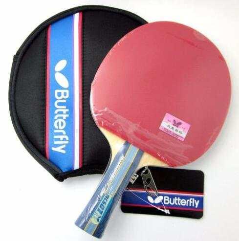 d87cf4544 placeholder 501 borboleta 502 Ténis de Mesa Raquete Ping Pong Paddle Bat  Lâmina Shakehand FL