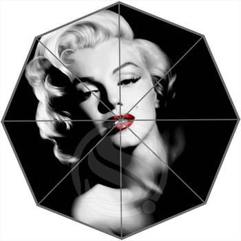 Горячая продажа Мэрилин Монро лучший хороший классный дизайн Портативный Модный стильный полезный Складной Зонт Прямая поставка SQ0702-KK90
