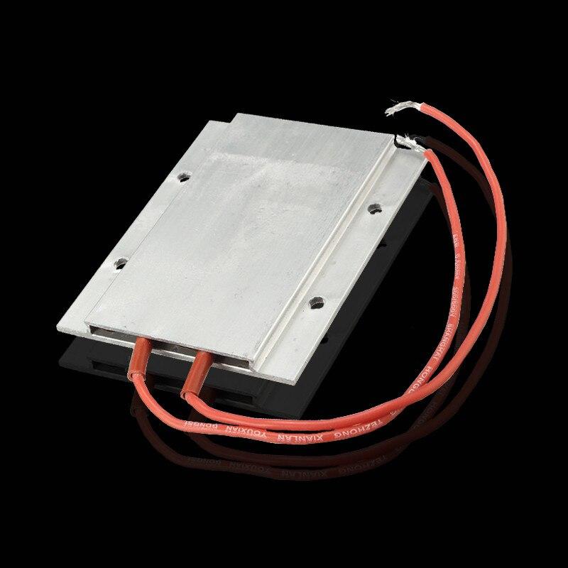 1PCS PTC Thermostat Aluminum Heating Ceramic Heater Element Max 200W AC/DC 220V Incubator Dehumidification Promotion Price new ceramic fuser heating element cartridge heater for hp p1505 m1120 m1522 m1536 p1566 p1606 m201 m202 m225 m225 m125 m126 m127