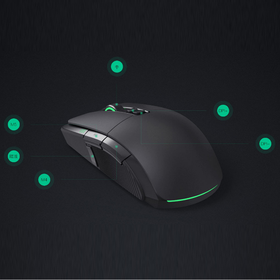 Image 3 - Original Xiaomi Game Mouse Portable Usb/Wireless 2.4GHz Dual Mode 7200Dpi 6 Button RGB Led Gaming Mouse MacOS Windows Gamer Mice-in Mice from Computer & Office