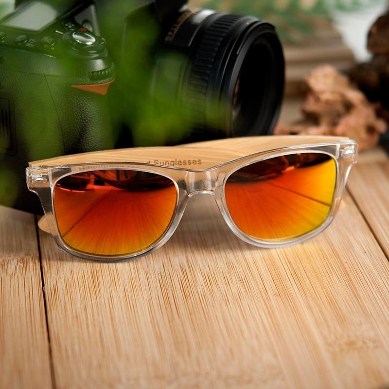 Image 5 - BOBO BIRD Bamboo Men Sunglasses Polarized UV 400 Retro Women Eyewear lunettes de soleil hommes polarissunglasses withbamboo polarized sunglassesbamboo sunglasses -