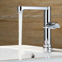 Single Handle Brass Bathroom Faucets Basin Fast On Only Cold Simple Faucet +1 pcs Hose