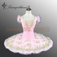 Women Professional Ballet Tutu Pink Girl Tutu Ballet Kids Ballet Tutu Pink Classical Ballet CostumesBT8991