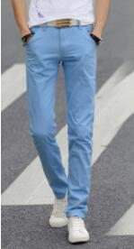 Spring and autumn comfortable casual pants men's slim casual pants straight casual pants D-57