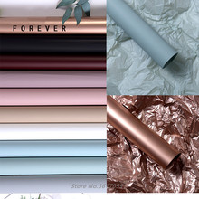 20 шт новая водонепроницаемая тканевая бумага цветная Цветочная упаковочная бумага крафт-бумага подарочная упаковка материал DIY ремесло поставка