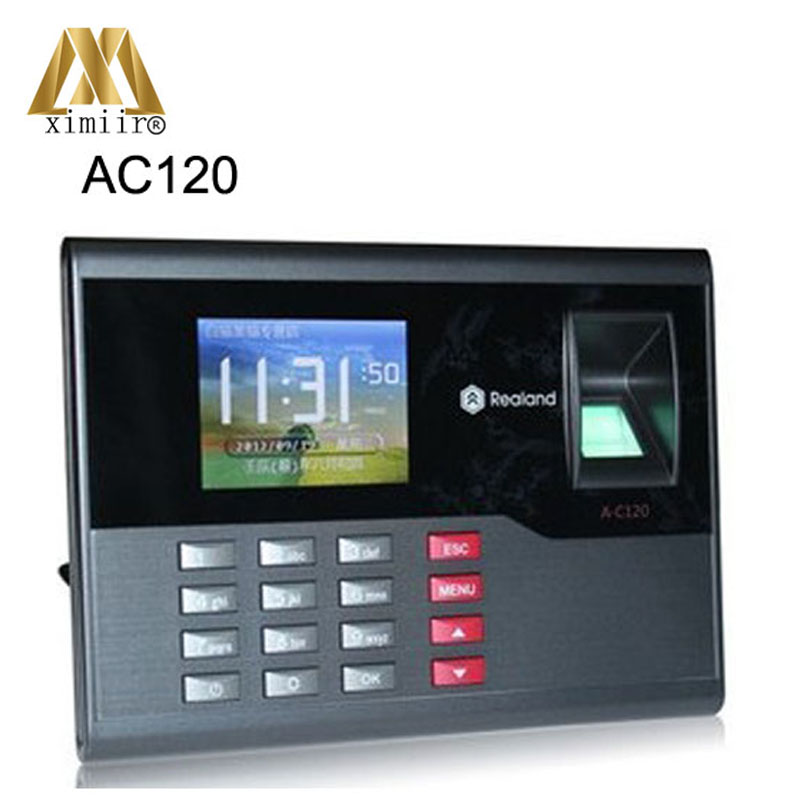 USB Flash Drive Up/Download A-C120 Fingerprint Time Attendance Fingerprint Password ID Card Attendance Time Clock Recorder