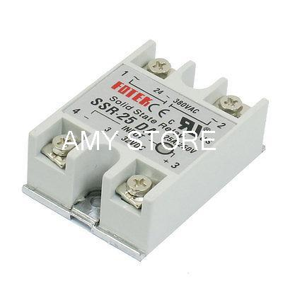 цена на Single Phase Screw Terminals DC 3-32V Input 25 Amp Solid State Relay