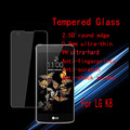 K8 Tempered Glass For LG k8 Anti-burst screen Tempered Glass guard 2.5D round edge With Retail Package