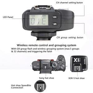 Image 5 - Godox X1R S ttl 2.4g 1/8000 s hss 무선 플래시 수신기 소니 a58 a7rii a7ii a99 a7r a6300 X1T S xpro s 트리거 송신기