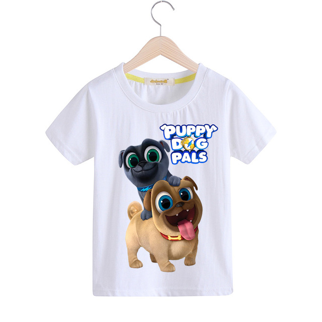 a78f6d34d Children Summer Casual Cartoon Puppy Dog Pals T-shirt Clothing For Kids  Short Tee Tops Costume Boy T Shirt Girls Tshirt ZCY046