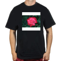 Flower Men T-Shirt Fashion T Shirt Black T-Shirt TShirt Short Sleeve Cotton