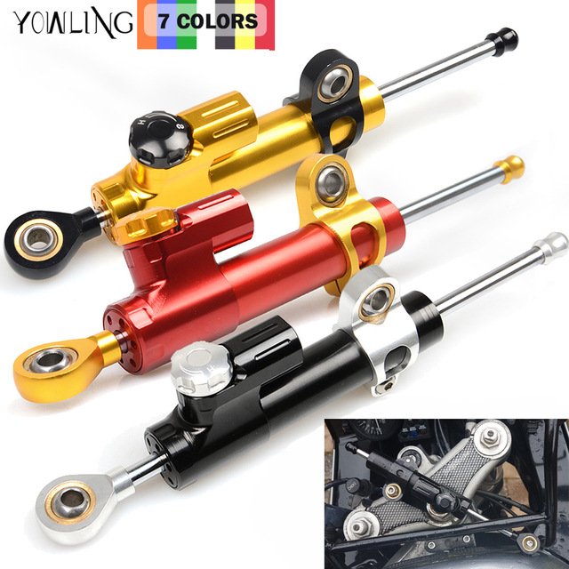 Motorcycles Steering Stabilize Damper StabilizerLinear Reversed Safety for Yamaha YZFR1 YZFR6 FZ400 XJR1200 XJR1300 FZS1000 FZ1