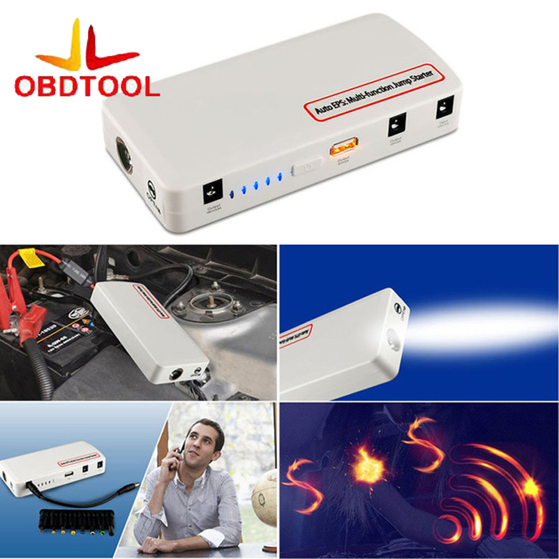 Multi-Function Auto OBD Car 12V 15000mah Car Jump Starter Emergency Portable External Power Pack Charger Source for PC Phone