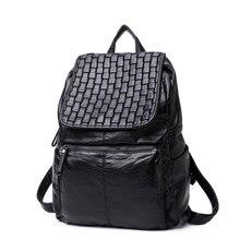 Элегантный дизайн высокое качество из искусственной кожи мягкий рюкзак 2017, женская обувь роскошные Школа Черный рюкзак дешевая цена поездки Back Pack