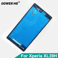 Dower Me Middle Frame Bracket Panel Metal Chassis Bezel Plate With Dust Plug Cover For Sony Xperia Z Ultra XL39H C6802 C6803