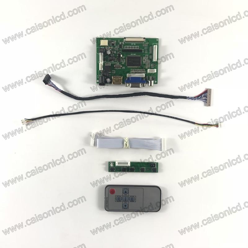 RTD2660 LCD controller board support HDMI VGA 2 AV for 12.1 inch LCD panel 800x600 G121SN01 V4 G121SN01V402 G121STN01.0 repair