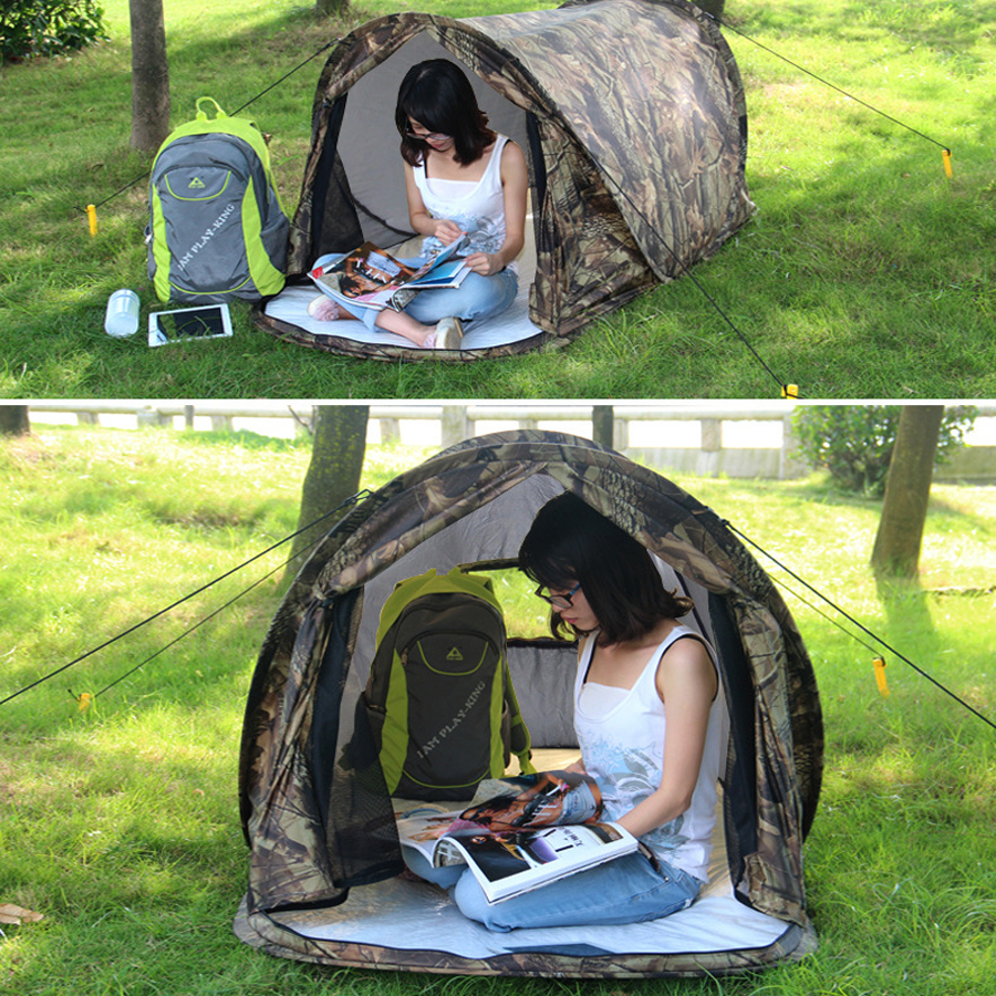 Ultralight Camouflage Camping Hunting Tent (7)