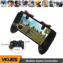 Cell Telephone Smartphone Gamepad for iPhone Android PUBG Cell Free Hearth Fortnited Recreation Controller Pad L1R1 Shooter L1 R1 Set off