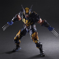 NEW hot 26cm wolverine X Men Enhanced version action figure toys collection Christmas gift doll with box