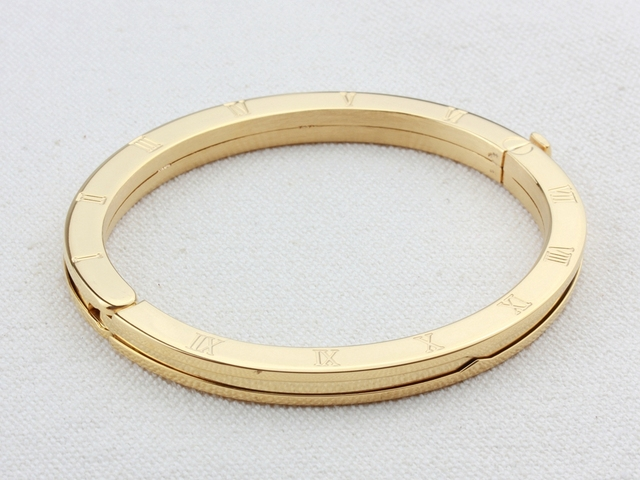 WLB0223 stainless steel women bangle.white gold roman numeral fashion bangels good quality rose gold jewelry for lady,party ring 1