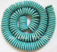 Free Shipping 3x16mm Blue Turquoise Rondelle Loose Beads 16 Min Order Is 10 We Provide Mixed