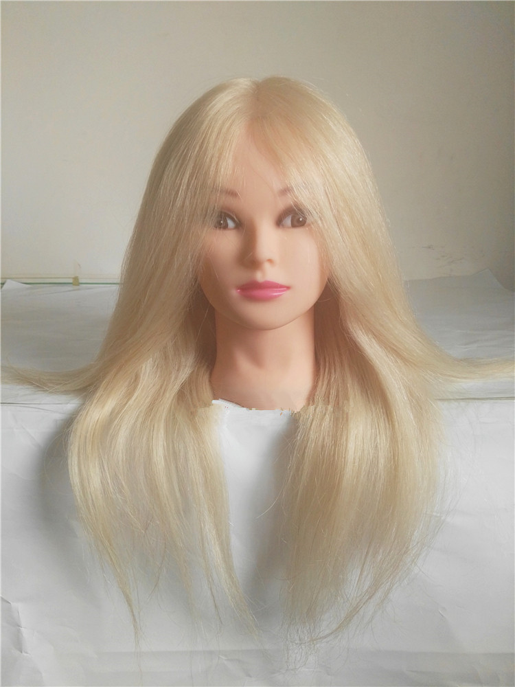 Mannequin Head With Human Hair