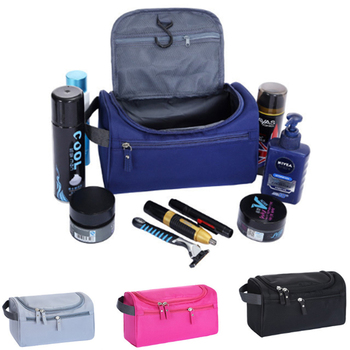 New Waterproof Men Hanging Makeup Bag Nylon Travel Organizer Cosmetic Bag for Women Necessaries Make Up Case Wash Toiletry Bag Cosmetic Bags