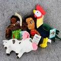 4 шт./лот Моана Плюшевые Игрушки Куклы Моана Принцесса Мауи Heihei Pua Плюшевые игрушка Мягкая Плюшевая Игрушка Моана Приключения Игрушки Куклы Подарок Для Детей