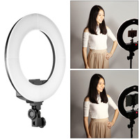 Neewer 35cm 36W Bi Color Dimmable Annular Lamp In 192 Pcs LED SMD With LCD Display