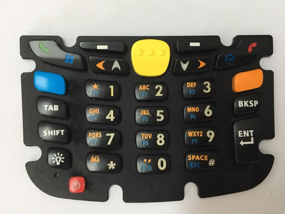 100% tested New for Symbol MC55 MC55A0 Rubber keyboard Rubber keypad 27 keys Numeric keyboard numeric keypad 19 keys