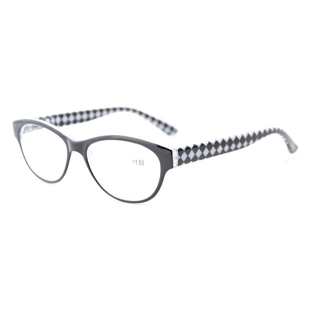 ec5cc066fe R1614 Eyekepper calidad bisagras de primavera-Rim mitad gafas de lectura +  0,5