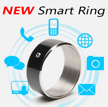 (Ship in 24 Hours) Black white Smart Rings Wear Jakcom new technology Magic jewelry For HTC Moto Nokia LG IOS Android WP Windows