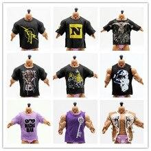 Camisetas de gladiadores de lucha libre para figuras de luchador figuras de acción juguetes en miniatura de pvc