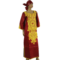 MD african traditional dress for women african printing dresses bazin riche headtie south africa clothes 2019 new kaftan dresses