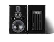 Wanbo DM320 8-inch three-way active monitoring speakers  hifi speaker 8 inch bass  4 inch midrange aluminum treble