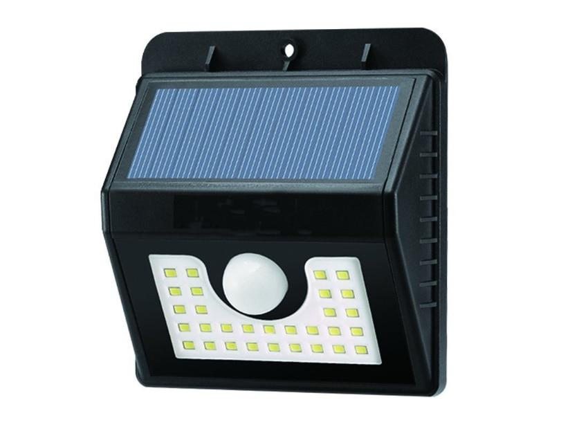 30 LED 200LM Solar PIR Menselijk lichaam Bewegingssensor Wandlamp - Buitenverlichting