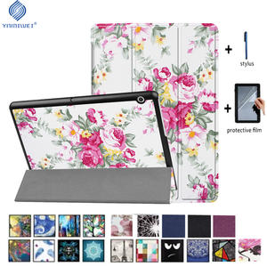 YNMIWEI AGS-L09 AGS-L03 W09 Case For Huawei MediaPad T3 10 Tablet Stand Slim Cases