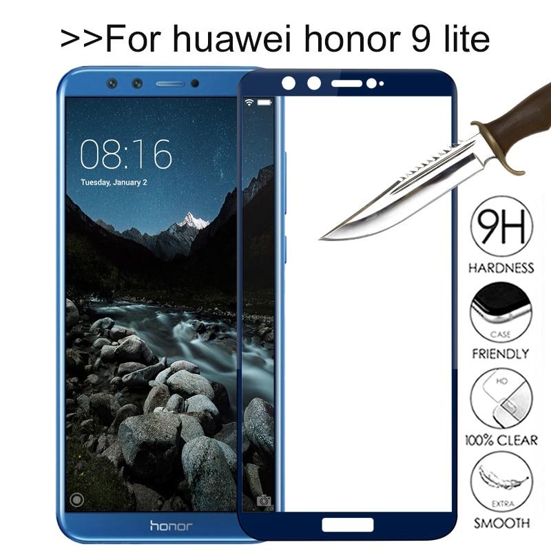 Honor 9 luz vidro de proteção no honor 9 lite para huawei honor 9 9 lite lite honer 9 lite protetor de tela de vidro temperado filme
