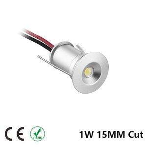 Image 2 - Mini Spot lumineux circulaire en aluminium pour le plafond, éclairage dextérieur, éclairage dextérieur, éclairage de plafond, échantillon de plafond, idéal pour un jardin ou une salle de bain, 1W, 15/25MM, dc 12v LED