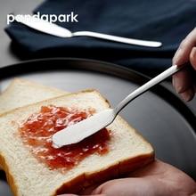 Pandapark 304 нож для масла и сыра из нержавеющей стали, десертные столовые приборы, распорка для варенья, инструмент для завтрака, ножи для сыра PPS007