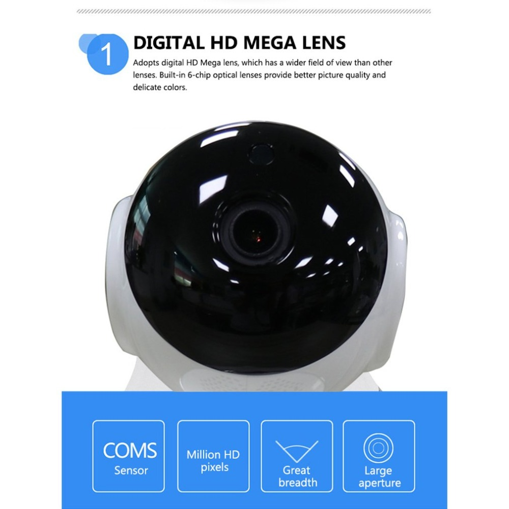 P2P WIFI IP Camera 720P HD Wireless Smart Baby Camera Nigh Vision Remote Control Surveillance Home Security Camera
