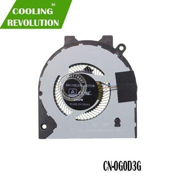 Nouveau Ventilateur De Refroidissement Pour Dell Inspiron 14 5480 5488 15 5580 5588 Vostro 15 5581 V5581 Ventilateur Refroidisseur 0G0D3G G0D3G DFS5K121142620 FKS9