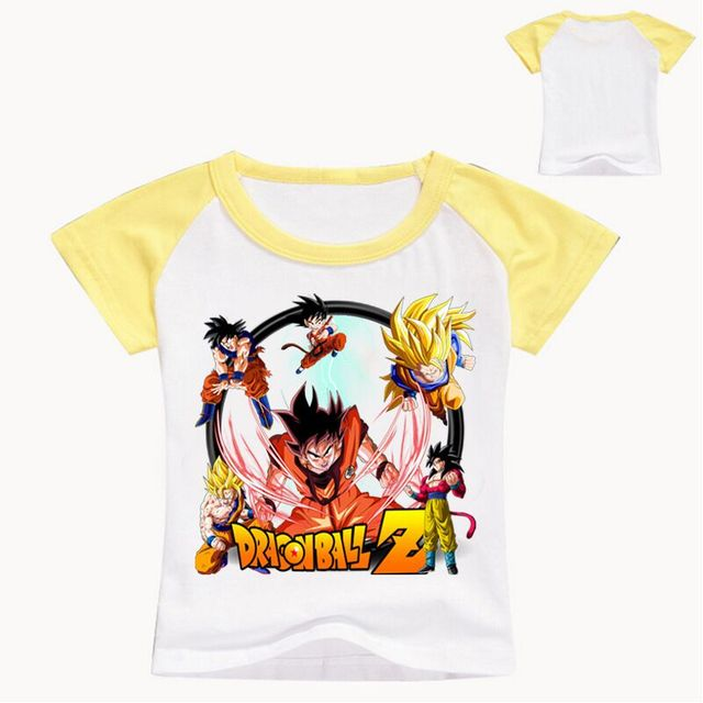 ce877c4ba 2 12 Years Tiny Cottons 2018 Dragon Ball T Shirt Baby Boys Shirts ...