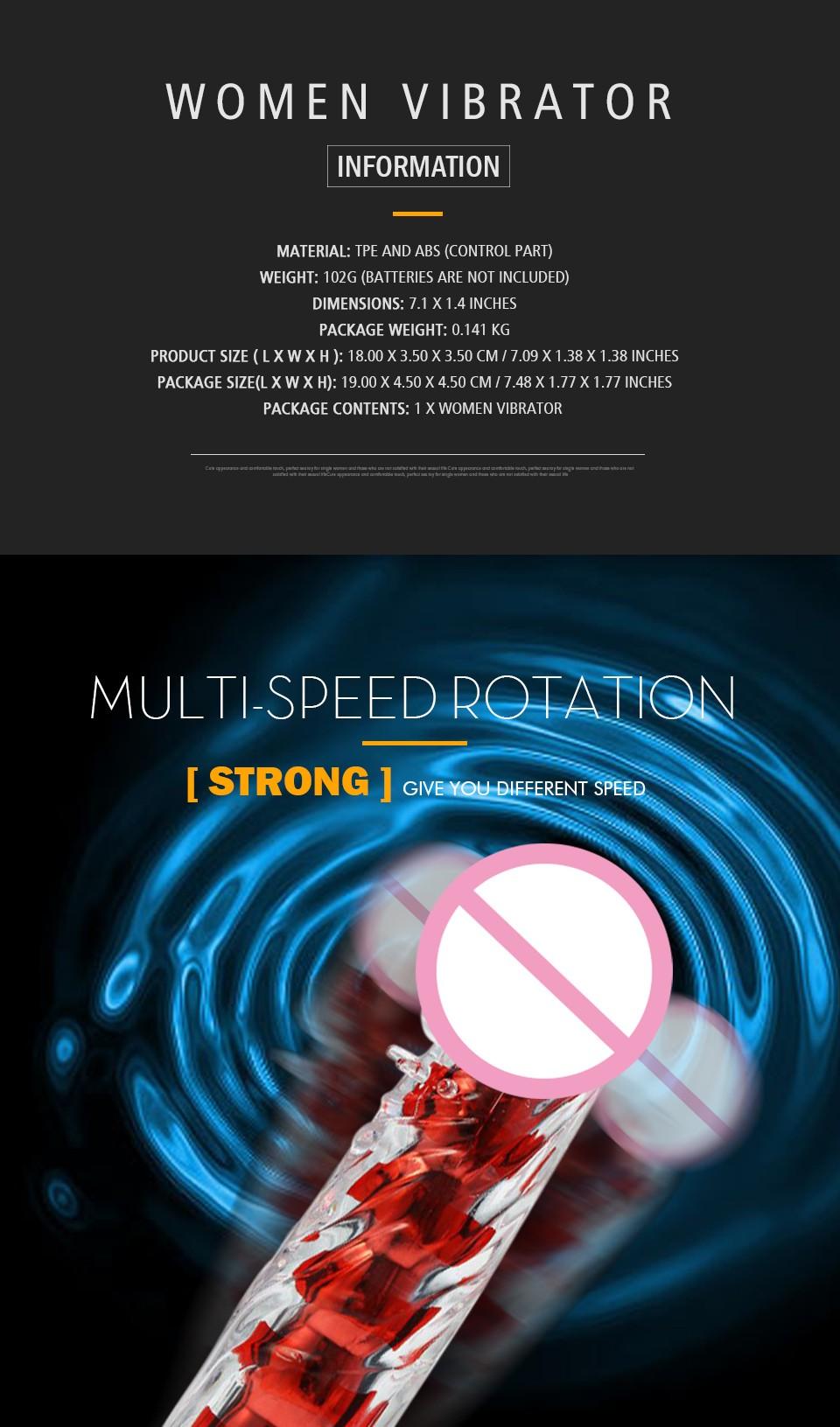 HTB1avm2KFXXXXXVaXXXq6xXFXXXl - Multi Speed Silicone G Spot Classic Vibrator 7 Inches Sex Toy