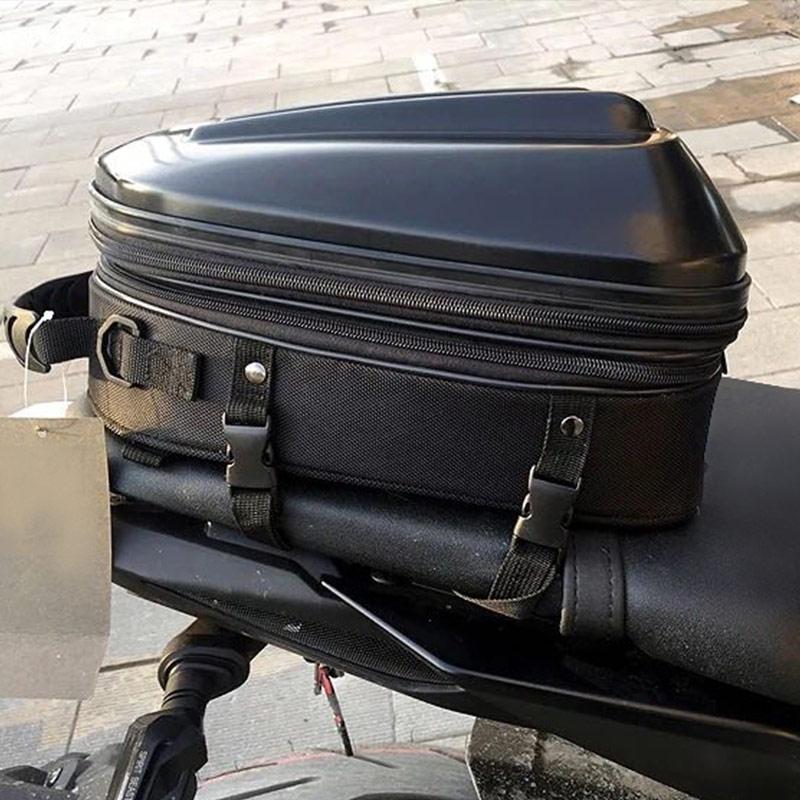 2018 automne hiver nouveau ROCKBIKER moto siège arrière sac à dos réservoir de carburant sacs chevalier moto casque sac étanche 3 couleur