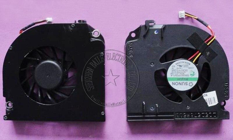 (100 Stks/partij) Koelventilator Voor Dell D820 D830 D531 M4300 M6300 M65 1531 Np865 Cpu Fan Nieuwe D820 D830 Laptop Cpu Koelventilator Koeler Goede Warmteconservering