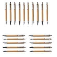 цена на Luffa Ballpoint Pen Sets Misc. Quantities Bamboo Wood Writing Instrument (20 Set)